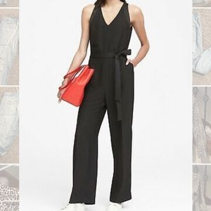 Banana Republic Tie Waist Jumpsuit